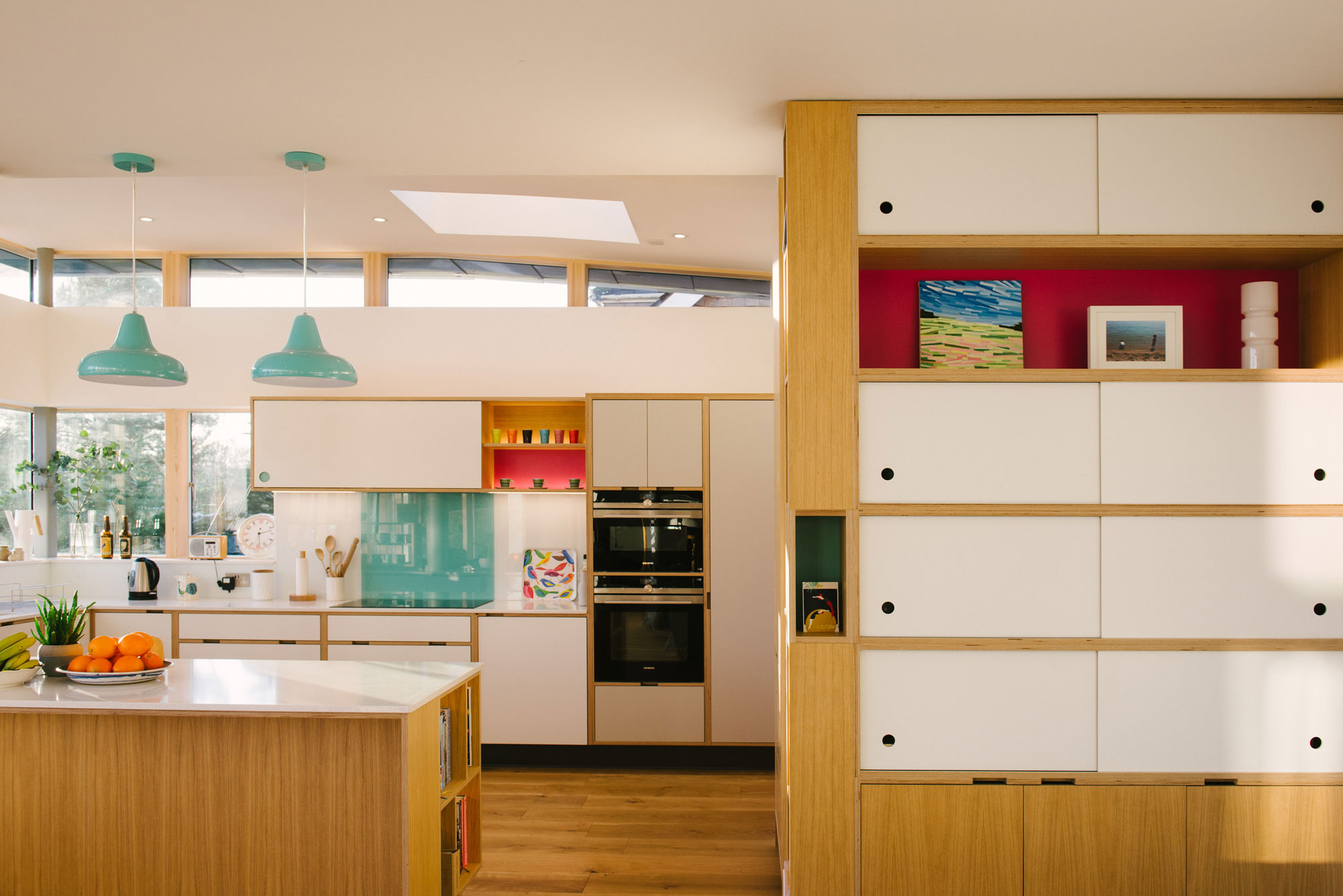 Birch plywood kitchens