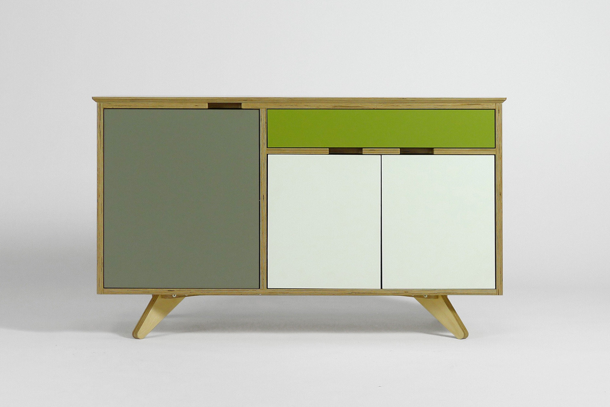 Bespoke plywood furniture // sideboard