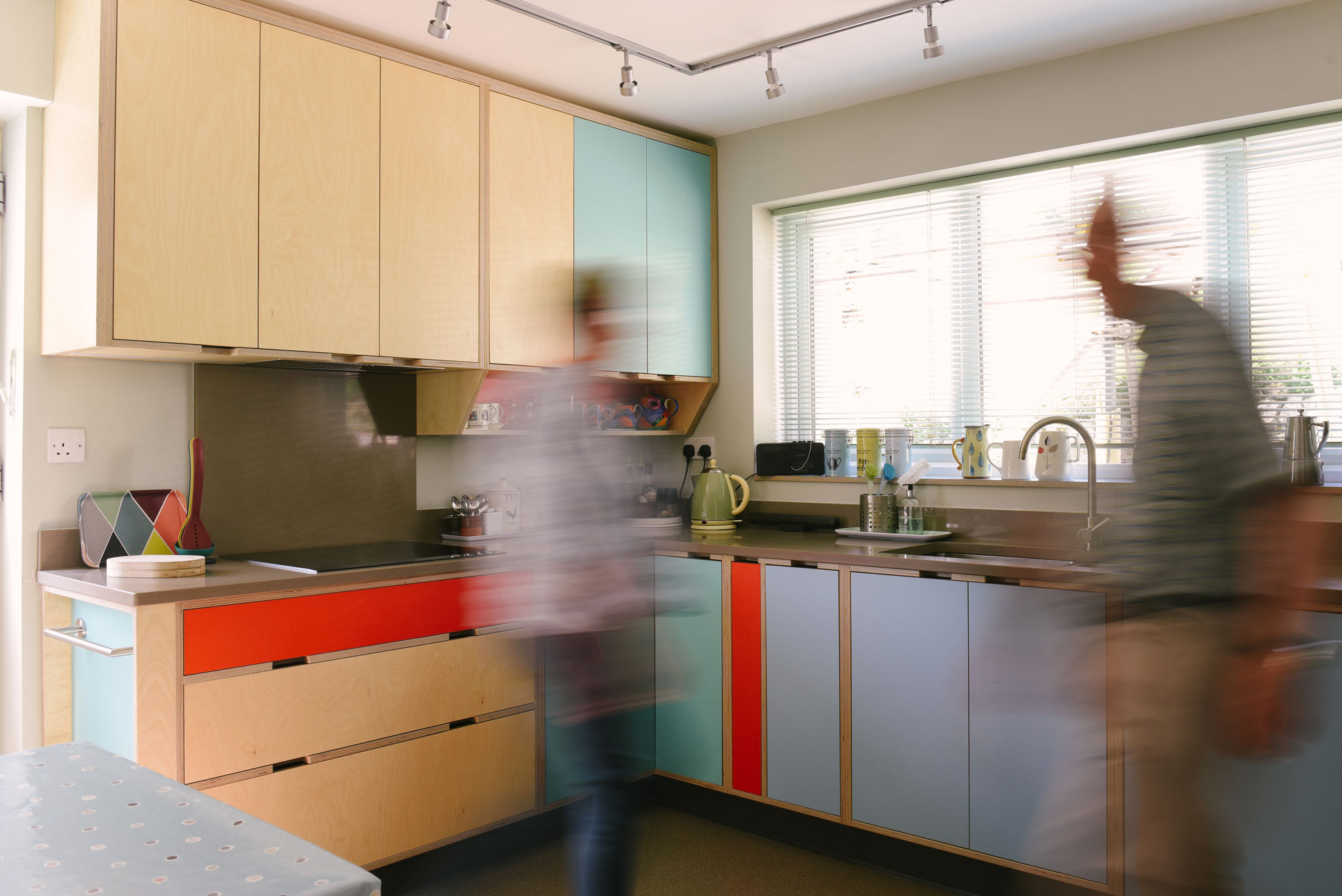 Retro Plywood Kitchen