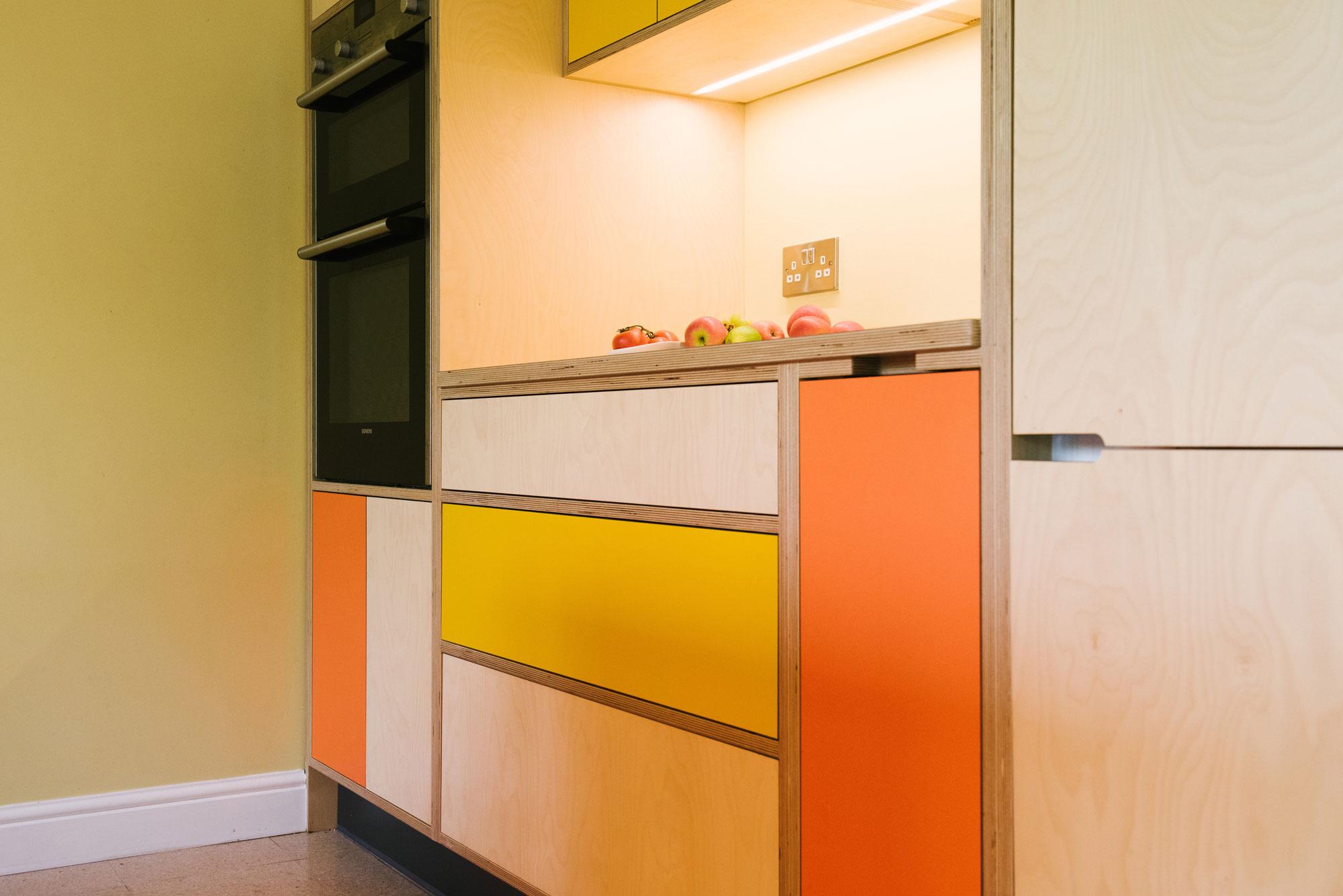 Handleless Doors Kitchen