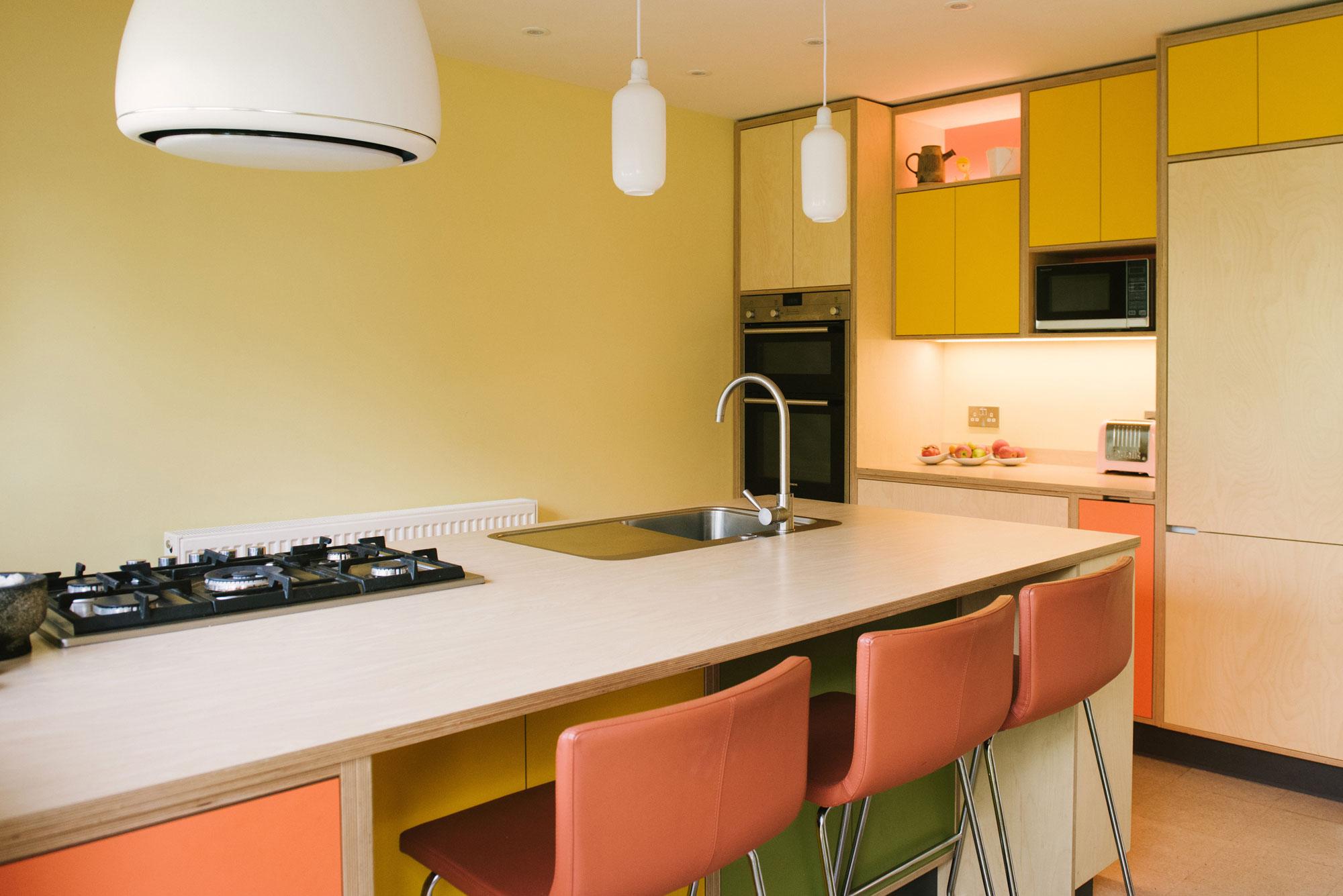 Orange and Yellow Kitchen Decor