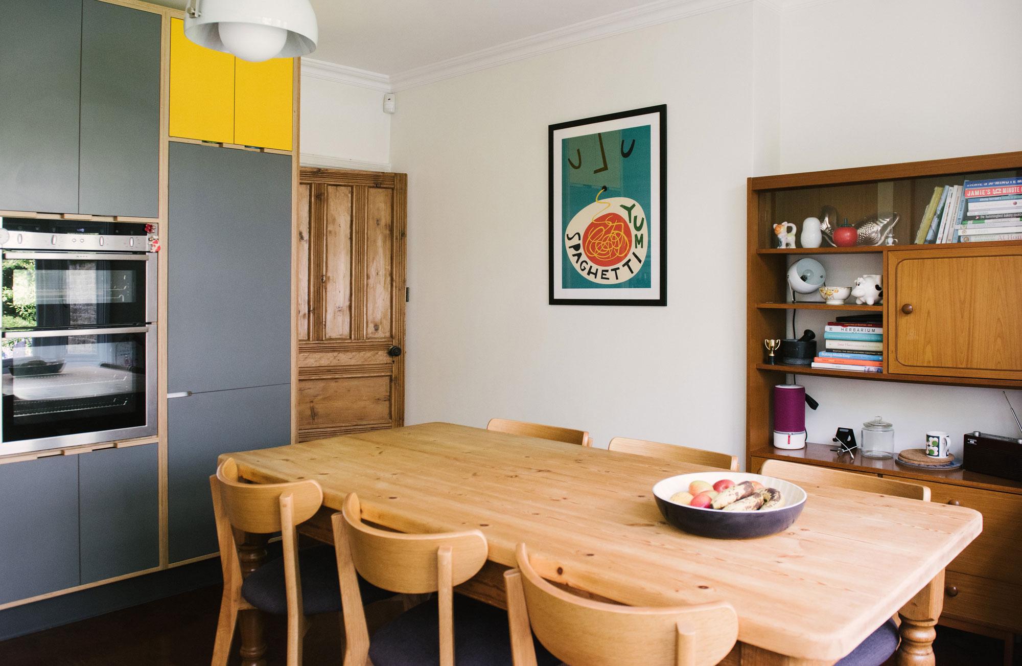 Mid Century Inspired Dining Room