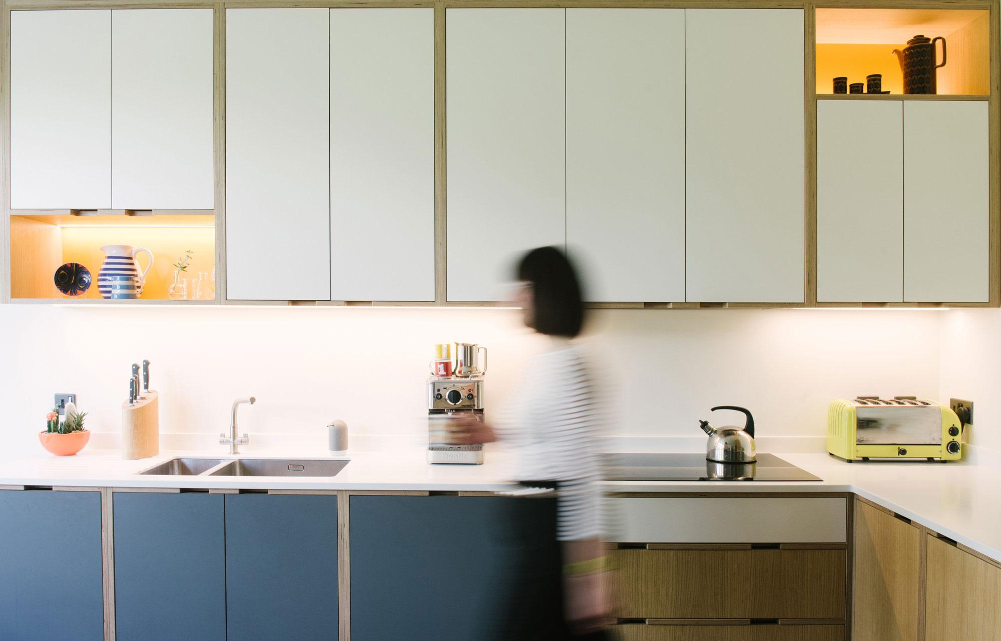 Mid-century Style Kitchen