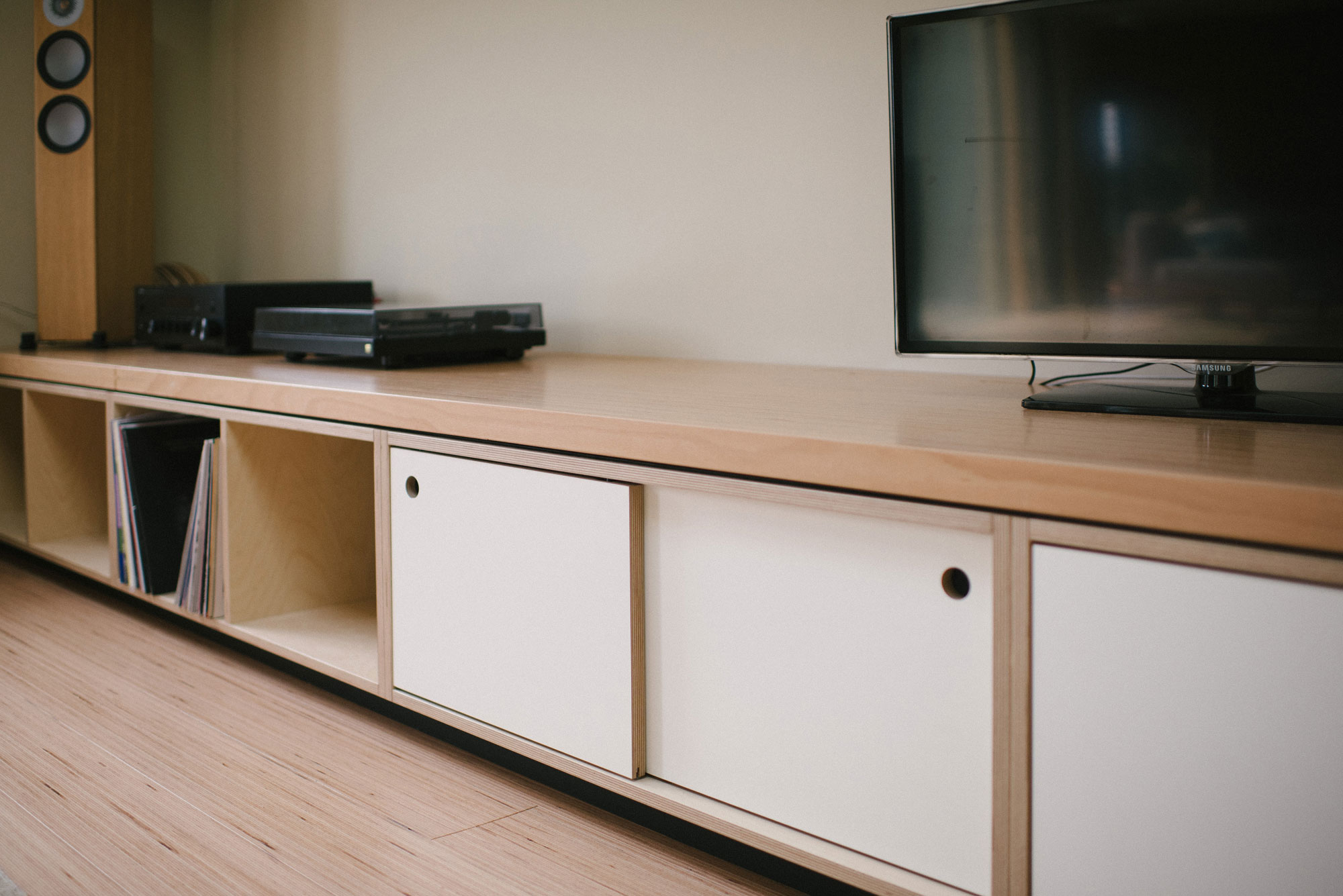 Plywood Media Unit