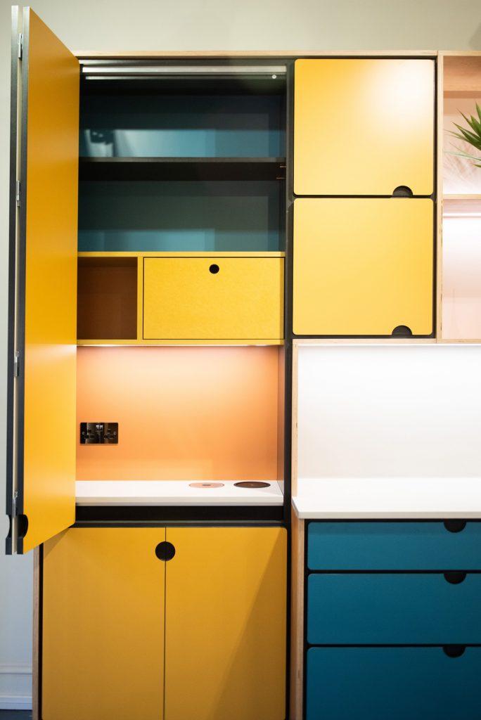 Valchromat kitchen larder cupboard