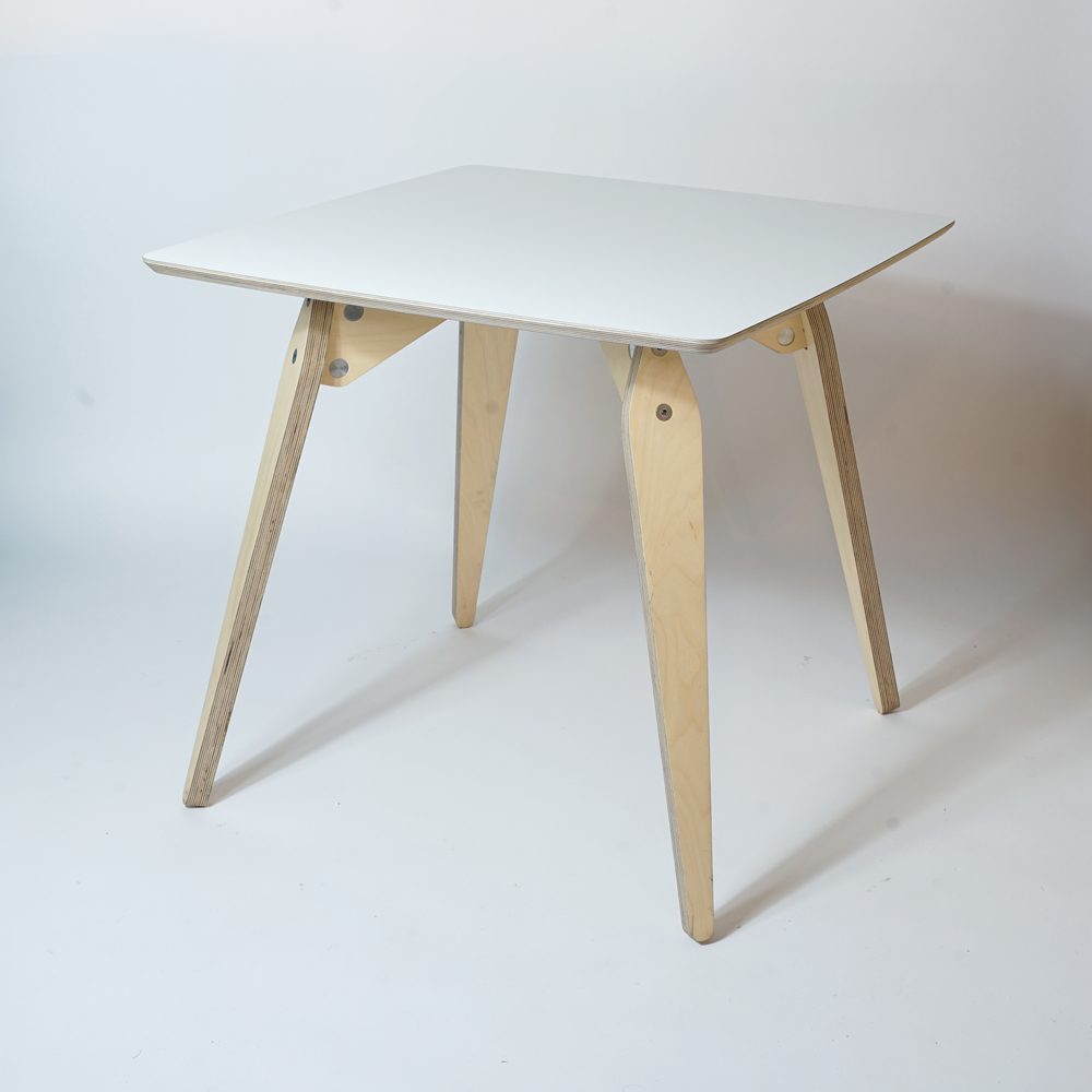 small plywood dining table