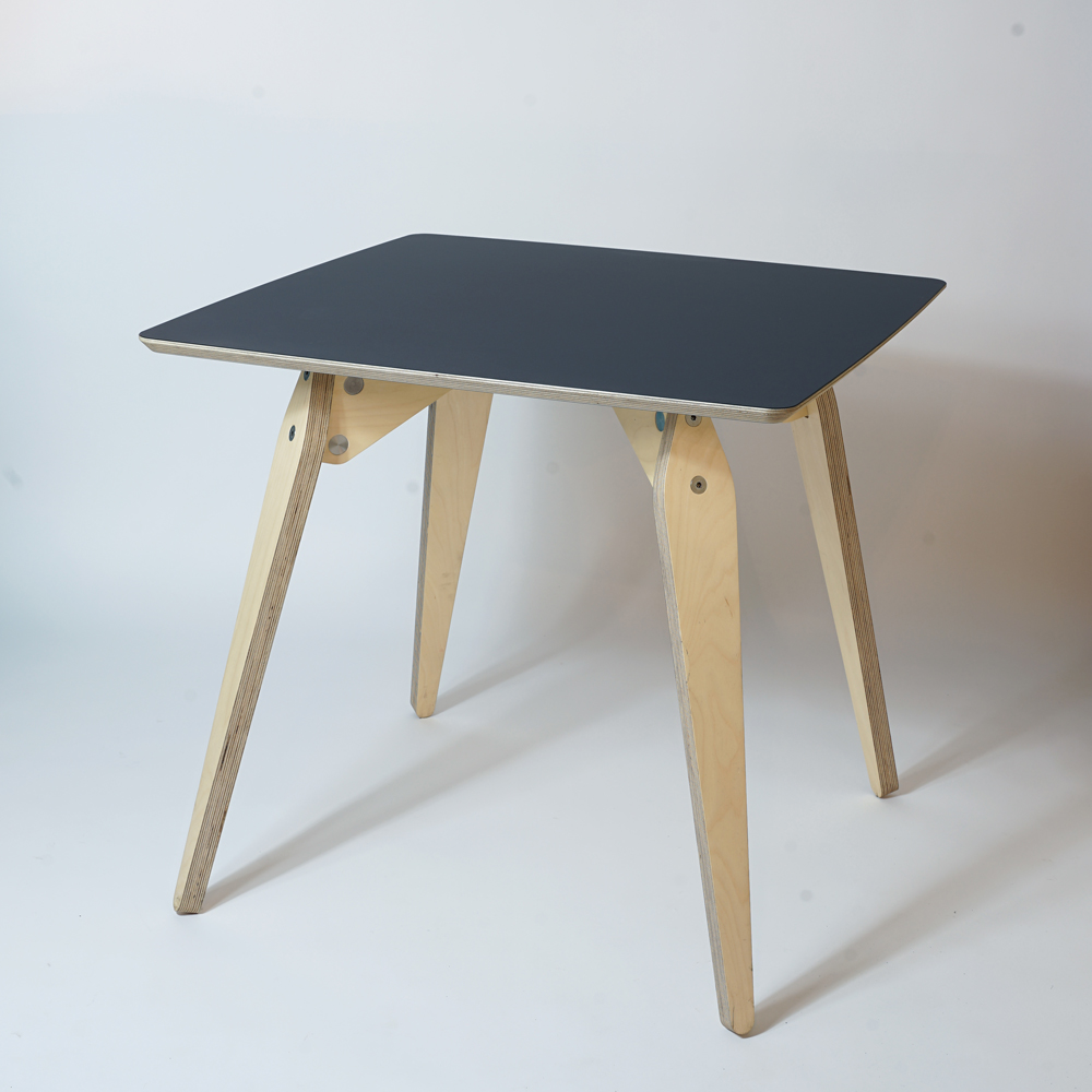 square plywood dining table