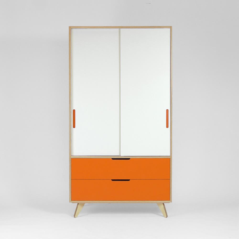 plywood wardrobe